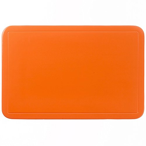 Kela 15003 Uni Set de table PVC Orange 43,5 x 28,5 x 1 cm