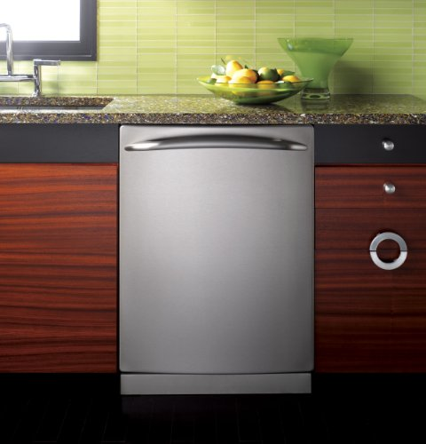 GE Profile : PDWT580RSS 24 Built-In Dishwasher - Stainless Steel