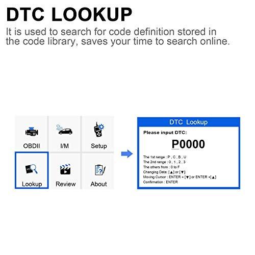 ANCEL EU410 Lector de código de fallas para vehículos El escáner ...