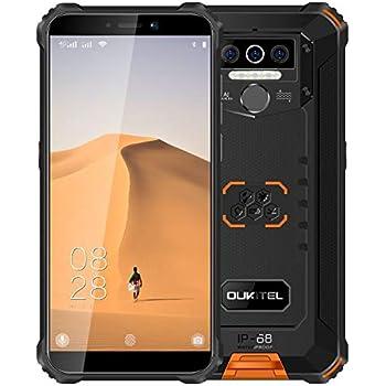 4G Teléfono Móvil Resistente 2020 OUKITEL WP5, Batería de 8000 mAh ...