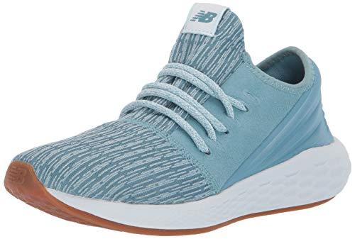 New Balance - Zapatillas de Running de competición de Piel sintética Mujer, Color Morado, Talla 7 M EU
