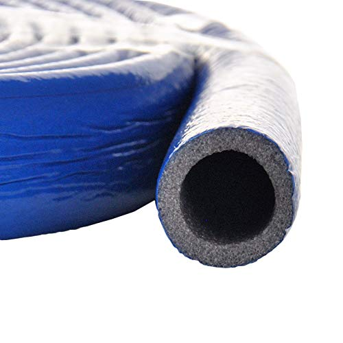 [DQ-PP] 22/6 Blau 10m Rolle Rohrisolierung Isolierschlauch PE-Schaum Isolierung Rohr Mehrschichtverbundrohr