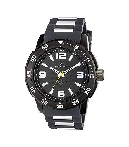 RADIANT Reloj Analógico para Hombre de Cuarzo con Correa en Silicona RA313606