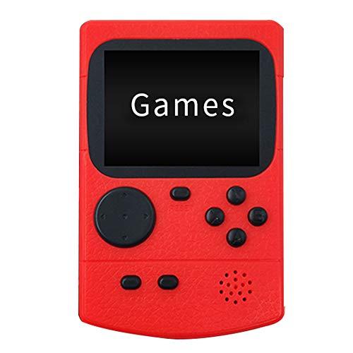 FAJ7G Reproductor de minijuegos Retro Consola de Juegos clásica Retro 500 de 3.0 Pulgadas Admite Dos Jugadores y una Consola de Videojuegos conectada al Cable AV