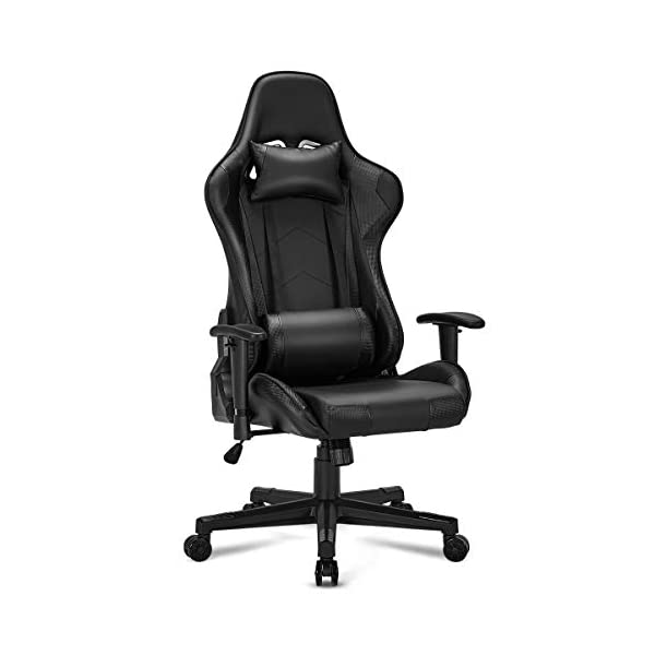 YOLENY Gaming Chair Computer Game Chair Office Chair Ergonomic High Back PC Desk...
