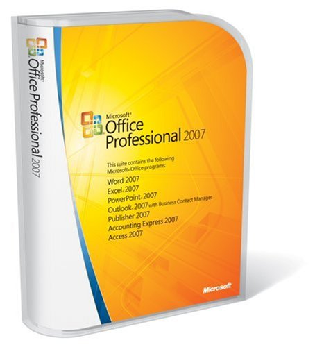 Microsoft Office Professional 2007 FULL VERSION  Old Version