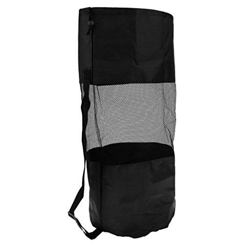 Homyl Sac de Rangement en Maille de Nylon Sac Transport avec Sangle Bandoulière Reglable Housse Stockage pour Équipement de Plongée sous-Marine Kayak Camping Voyage