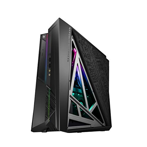 ROG Huracan G21 Compact Gaming Desktop, Unlocked Intel Core i9-9900K Processor, NVIDIA...