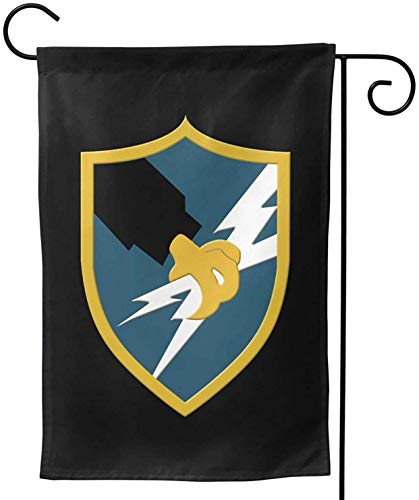 American (United States) US Army Security Agency Garden Flag Double Sided Decorative Yard Flag Banner for Outdoor Festival-12.5x18 in