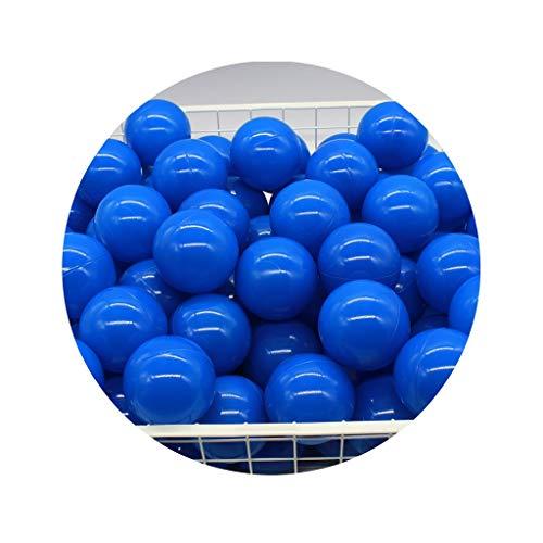 LIUFS-Barandilla Infantil Bola Marina Engrosada para Niños 5.5cm / 7cm / 8cm Parque De Atracciones Bola De Color Bola De Juguete Bola De Onda Azul Piscina De Princesa Decoración De La Habitaci