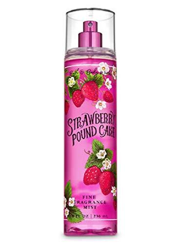 Bath and Body Works Strawberry Pound Cake Fine Fragrance Mist Spray 8 Ounce