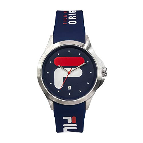 FILA Mens Watches - Womens Watches - Watches for Women - Watches for Men - Mens Watches - Analog Watch - Wrist Watch - Sports Watch Men - Fila Watches for Men - Blue Fila Watch