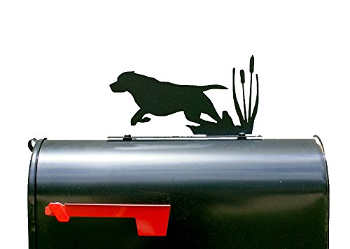 Hunting Dog Silhouette Mailbox Topper/Sign