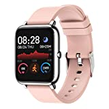 SKMEI Smart Watch, Waterproof Smart Watch for Men Women, Fitness Tracker with Heart Rate Blood Pressure Blood Oxygen Monitor, Smartwatch Activity Tracker Pedometer Calories for Android iPhone