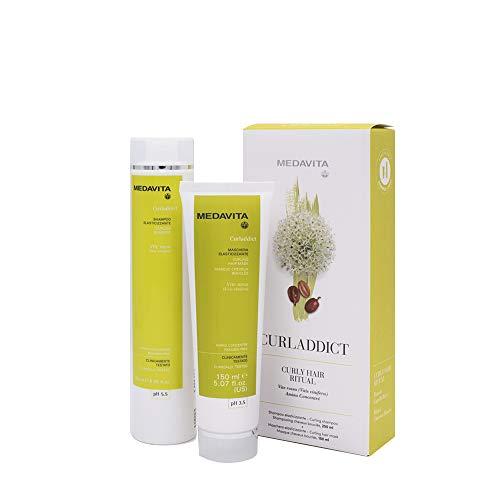 Medavita Rituale Curladdict Shampoo 250ml Mask 150ml Pour Cheveux Bouclés Ou Ondulés