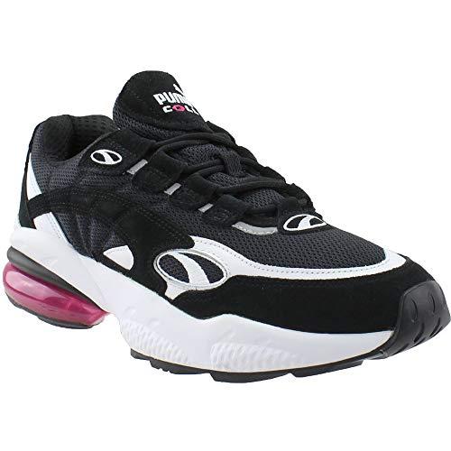 Puma Cell Venom - Zapatillas deportivas para hombre, Negro (Puma negro/fucsia púrpura), 40.5 EU
