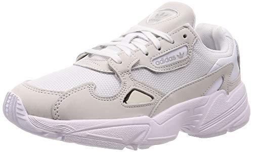 Adidas Falcon W, Sneaker Womens, Footwear White/Footwear White/Crystal White, 36 EU