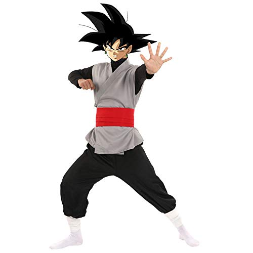 Nobranded Anime Dragon Ball Z Super Cosplay Goku Black Kaio Zamasu Disfraz Unisex Adulto Dragonball Halloween Party Clothing