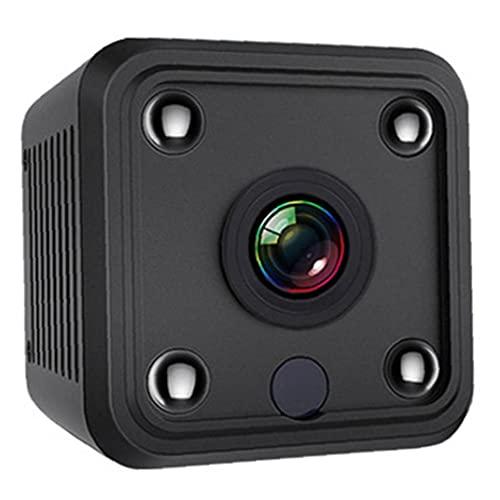 nJiaMe Mini cámara inalámbrica Cámara Pequeña Seguridad con visión Nocturna Audio de Movimiento 1080P HD cámara de WiFi de hojalata Grabador de vídeo portátil