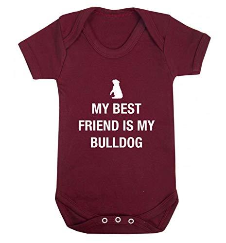 Flox Creative Gilet pour bébé Best Friend Bulldog - Rouge - XS