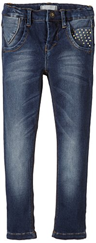 NAME IT Mädchen Jeanshose Lis Kids Dnm Xxsl/Xxsl Pant Noos, Gr. 140, Blau (Dark Denim)