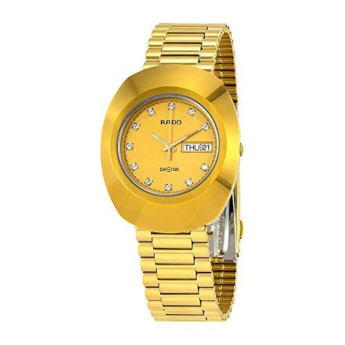 Rado Unisex Original Stainless Steel Swiss Quartz Watch