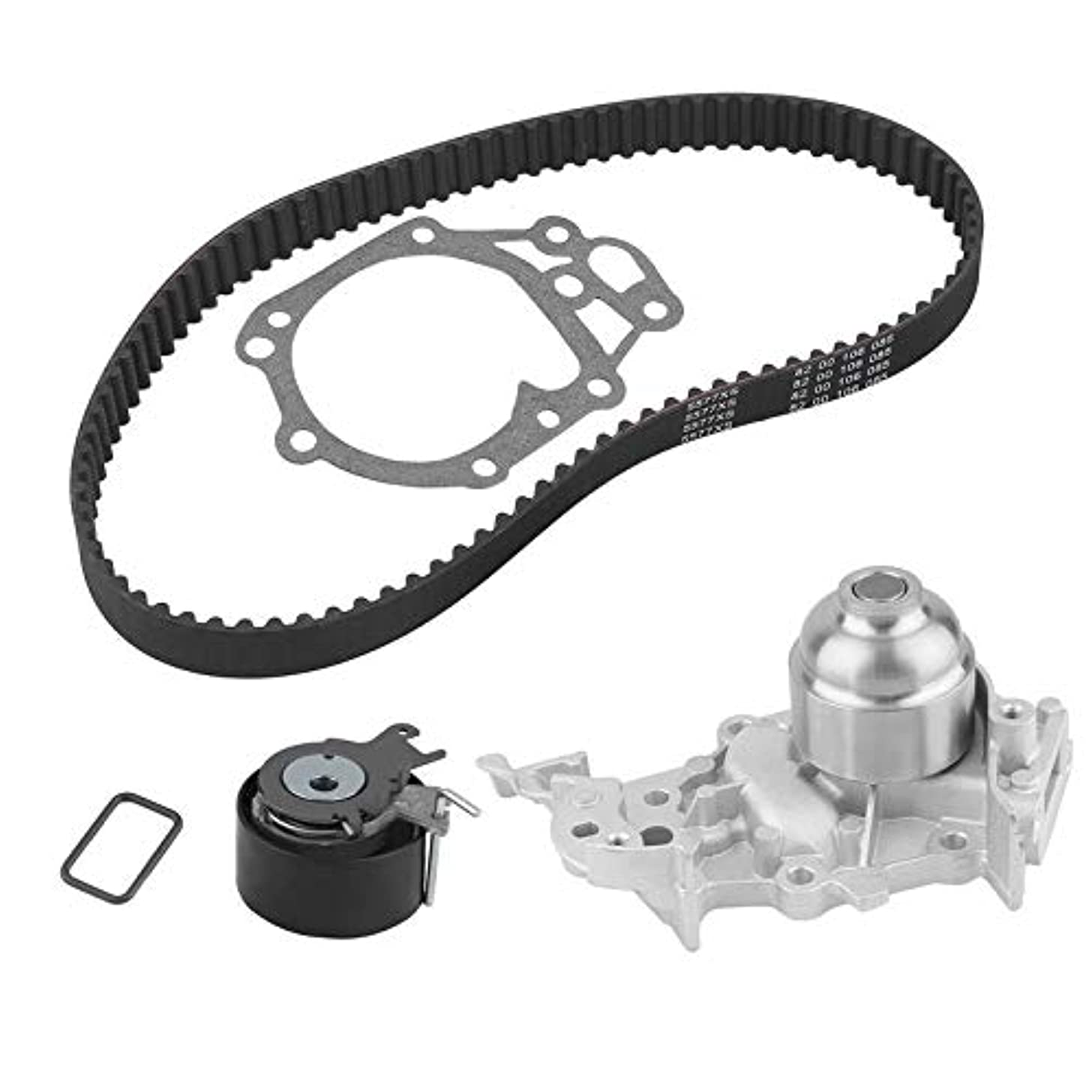 Car Engine Timing Belt Kit Cambelt Timing Suit With Water Pump Tensioner Pulley For Renault Clio MK II III 1.2 16V