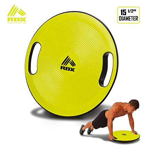 RBX Disc-Shaped Balance Board for Core Fitness (Volt)