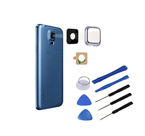 Lente per fotocamera Samsung Galaxy S5 Mini lente per fotocamera in vetro objetIV universale colore + set di attrezzi