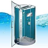AcquaVapore DTP6037-4100 Dusche Duschtempel Komplett Duschkabine 100×100, EasyClean Versiegelung der Scheiben:2K Scheiben Versiegelung +99.-EUR - 6