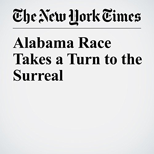 Alabama Race Takes a Turn to the Surreal copertina