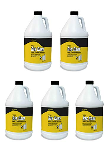 Pro Products ResCare RK02B All-Purpose Water Softener Cleaner Liquid Refill, 1 Gallon, 5 Pack