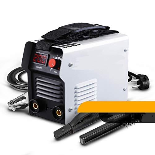 Release DEKO DKA-Serie DC Inverter Bogenschweißmaschine 220V IGBT MMA Schweißmaschine 200 AMP, geeignet for Familienanfänger, leicht und effizient