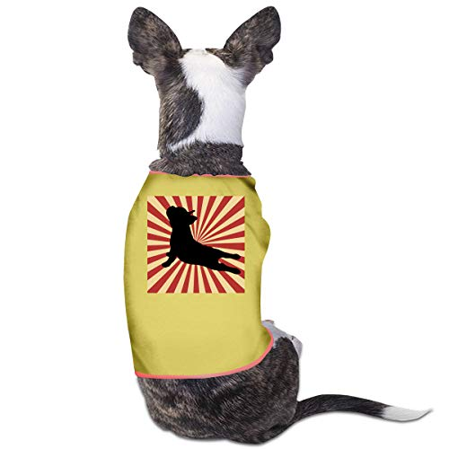 DLOAHJZH-Q Vintage Retro Style Yoga French Bulldog Puppy Vest Tank Tops Dogs Pet Sleeveless T-Shirt