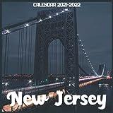 New Jersey Calendar 2021-2022: April 2021 Through December 2022 Square Photo Book Monthly Planner New Jersey small calendar