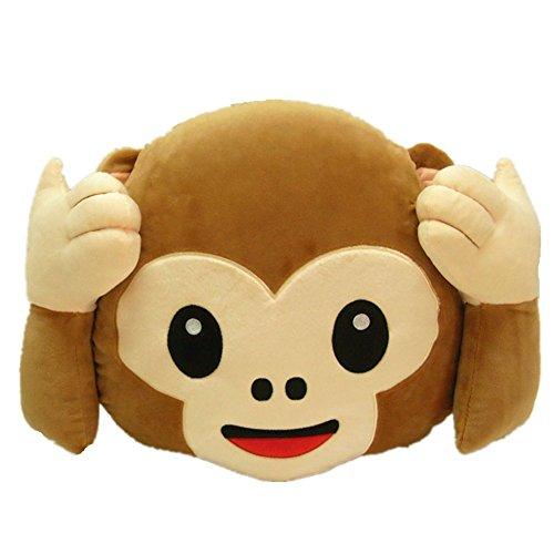 Aardvark Art Plüsch AFFE Lachen Emoticon Kissen Stuhlkissen Sitzkissen Spielzeug Plüschtier