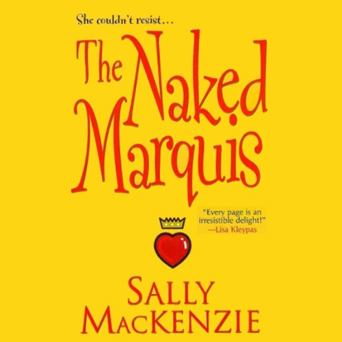 The Naked Marquis audiobook cover art