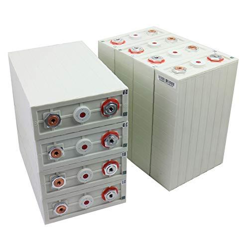GJZhuan 3.2V 100AH 4/6/6/16pcs Litio Hierro Fosfato LIFEPO4 Paquete De Células DIY Ciclo De Alta Capacidad 4000 Veces EE. UU. (Size : 8pcs)