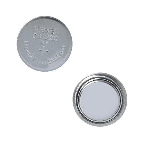 Maxell CR1220 3V Batterie au Lithium Cell (5Pcs par Paquet)