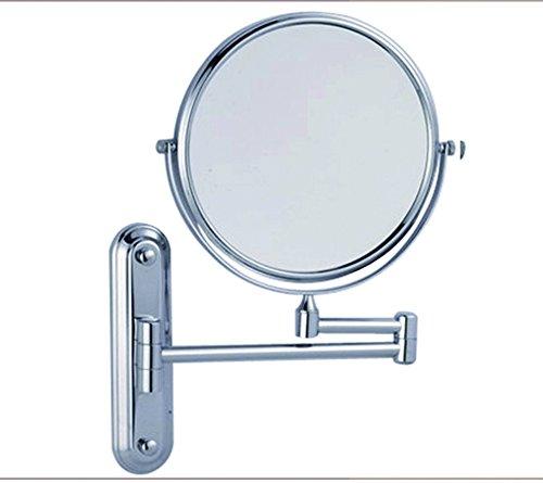 DADAO Hd-schminkspiegel Schräge Wandspiegel Europäischen Hotel Schönheit Spiegel Zink-Legierung-Make-up-Spiegel