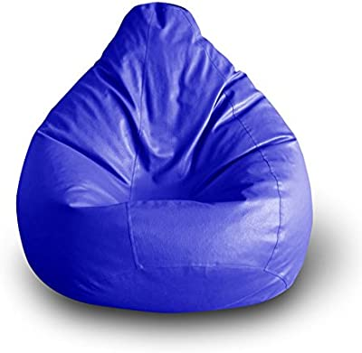 Style Homez Classic Bean Bag XXL Size Blue Cover Only