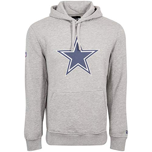 New Era Sweat à Capuche - NFL Dallas Cowboys Gris