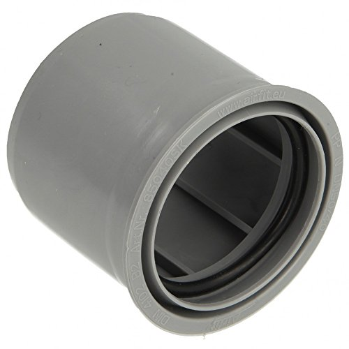 Airfit HT Abfluss - Reduzierstück superkurz DN 50 x 40, grau