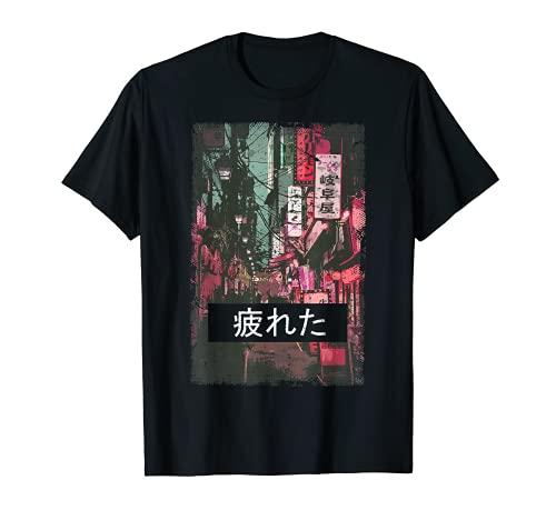 Aesthetic Vaporwave Japan 80er 90er Meme Tokio T-Shirt