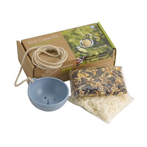Ashortwalk Eco Recycled Bird Feeder - Bird Cake Kit (Blue)