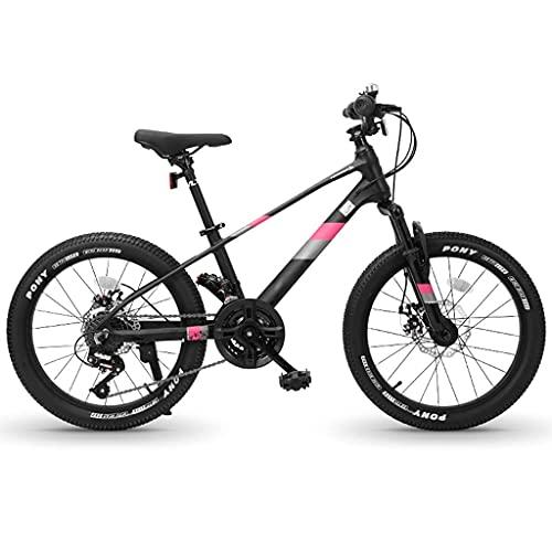Bicicleta De Montaña De 20 Pulgadas, Cuadro De Aleación para Hombre/Mujer, 21 Velocidades, Frenos De Disco, Estudiantes Jóvenes, Carreras Todoterreno, Conducción Al Aire Libre