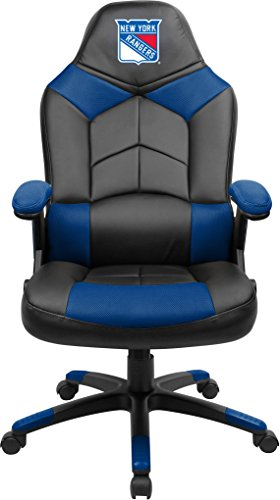 Imperial Officially Licensed NHL Furniture; Oversized Gaming Chairs, New York Rangers