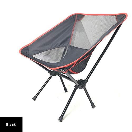 WBHD Lage Opvouwbare Strandstoel Lichtgewicht Draagbare Outdoor Ultra Light Tuinstoel met Draagtas voor Backpacking Wandelen Picnic Fishing Park Festival Beach etc 5 Kleuren