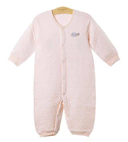 DQQ DQQ Baby Jungen (0-24 Monate) Schlafanzugoberteil Gr. M, Rosa - Hellpink