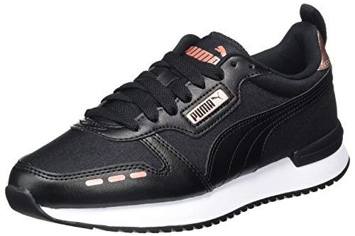 PUMA Damen R78 WN's Metallic Sneaker, Black Black Rose Gold, 40.5 EU